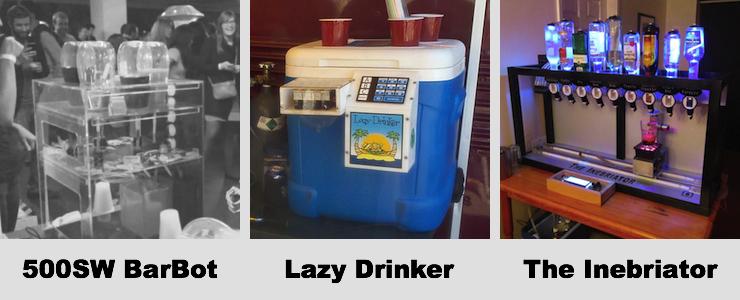 cocktail maker concepts past ventures