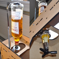The Automatic DIY Liquor Dispenser