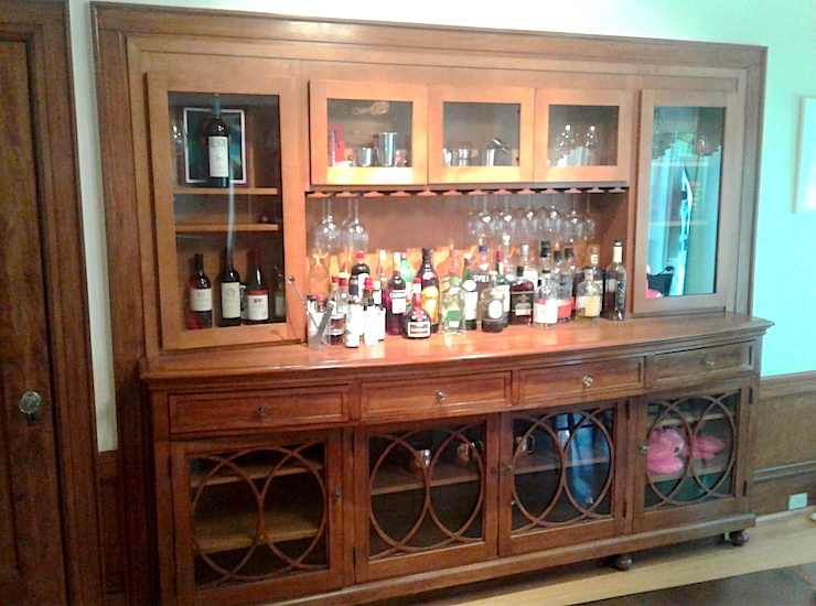 home bar diy carpentry