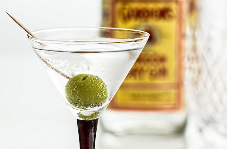 top cocktails vodka martini