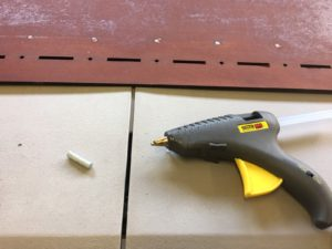 glue gun and magnets