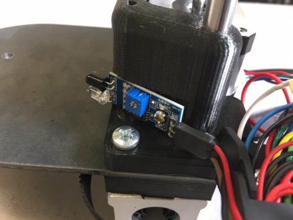infrared sensor wiring