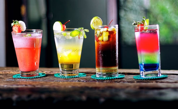most popular mixed drinks sweet