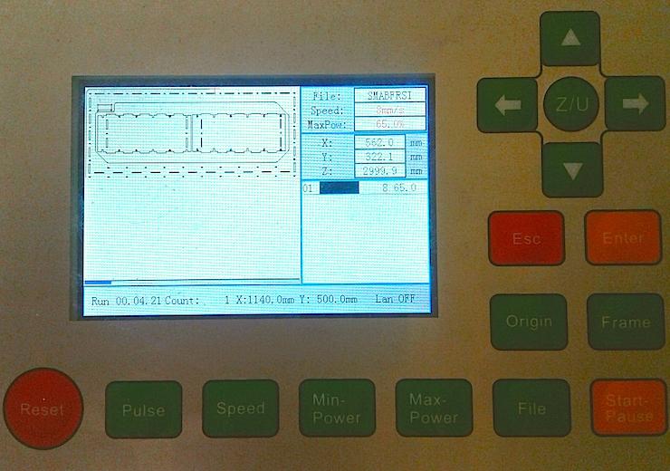 LaserCuttingMachine_Designing laser cutting settings