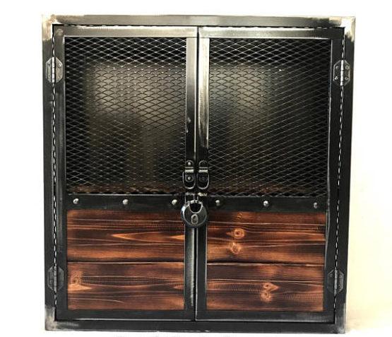 Wall Mounted Liquor Cabinet Locking