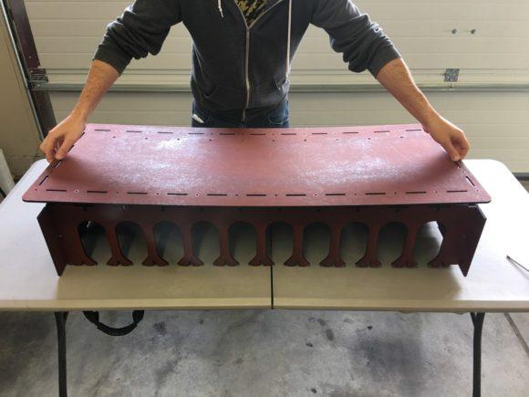 Lowering birch frame