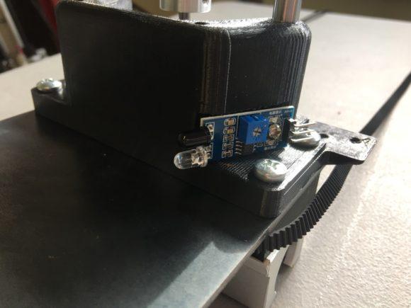 Mounted IR Sensor