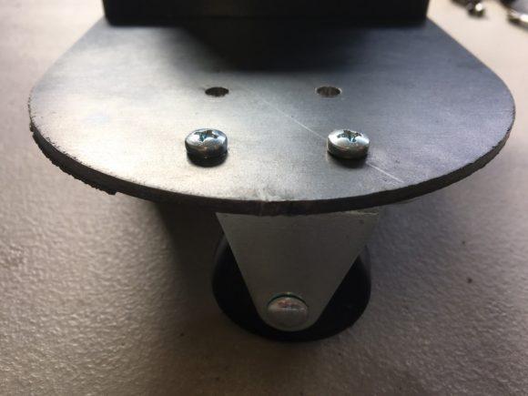 Wheel Attached to Platform